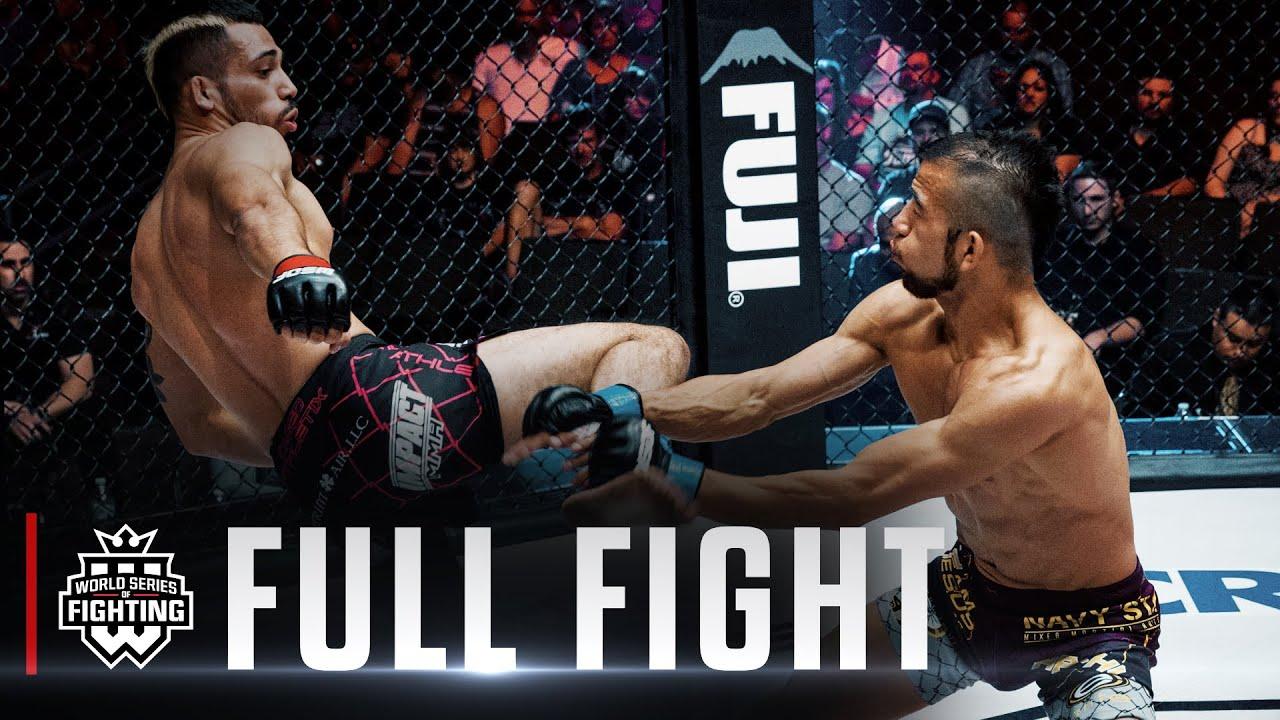 Andres Ponce vs Juan Archuleta | WSOF 19, 2015