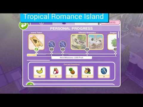Simsfreeplay- Tropical Romance Island Event