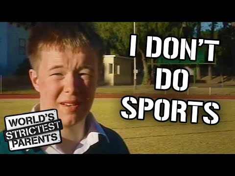 Teen Refuses To Take Part in School Sports | World's Strictest Parents