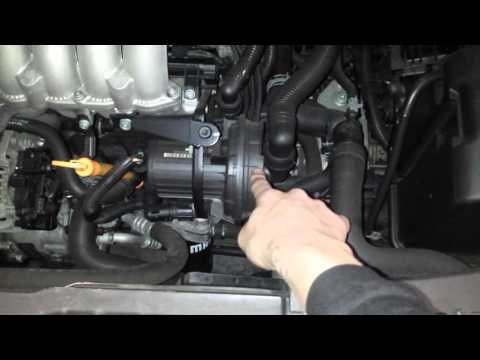 VW 2.0l Air injection pump location