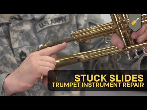Stuck Slides: Trumpet Instrument Repair