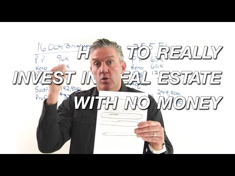 How to REALLY Invest in Real Estate with No Money