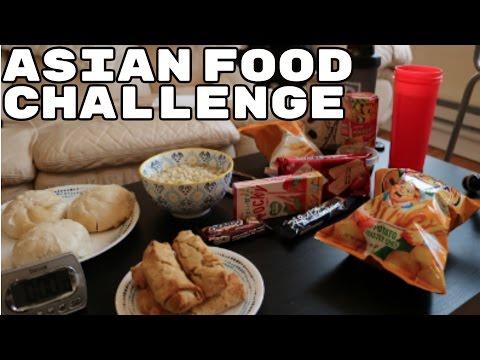 ASIAN FOOD CHALLENGE !