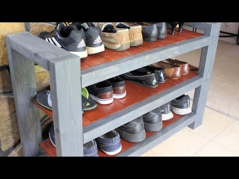 Shoe Rack Shelf DIY Custom