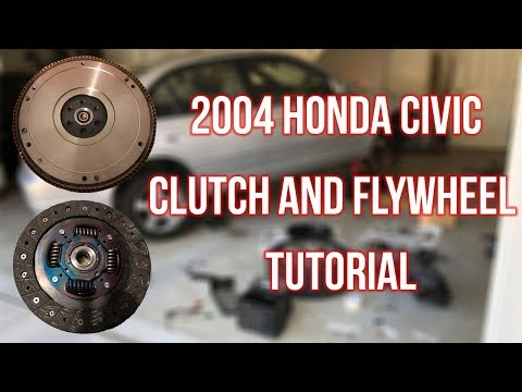 2004 Honda Civic Clutch Replacement Tutorial