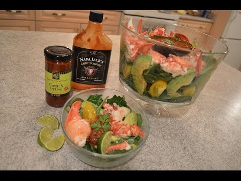 How to Make Spinach Salad with Lobster & Avocado + Sauce: Wine Country Kitchens with Kimberly