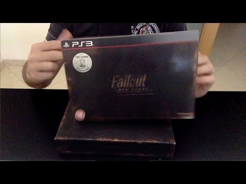 Unboxing - Fallout New Vegas Collector's Edition (PS3)