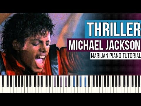 How To Play: Michael Jackson - Thriller | Piano Tutorial + Sheets