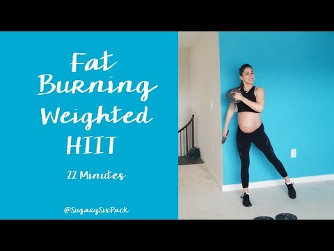 Fat Burning Intervals |HIIT Workout at Home