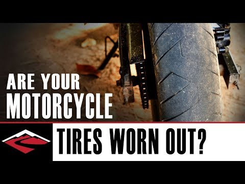 Are Your Motorcycle Tires Worn Out?
