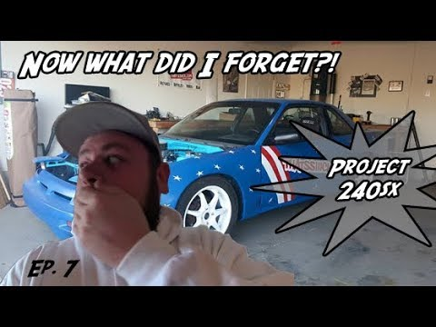 240sx Hydraulic Throw out Bearing Conversion   Project 240sx EP 7