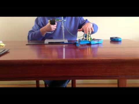 STELR wind turbine - circuit to measure power generated