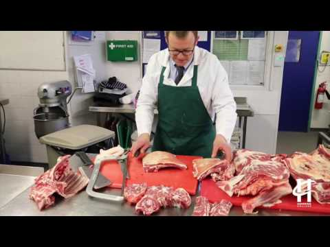 Lamb Butchery demonstration