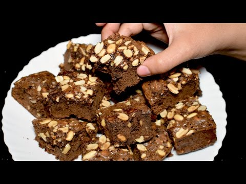 Chocolate Brownies Recipe - Without Oven Brownies - Easy Brownies Recipe