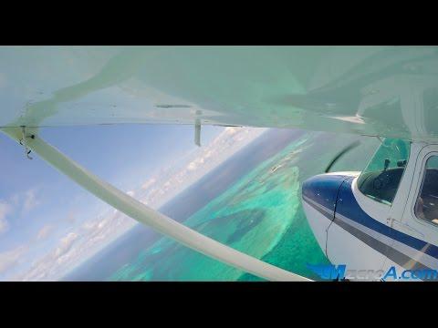 Flying to The Bahamas - MzeroA Flight Training