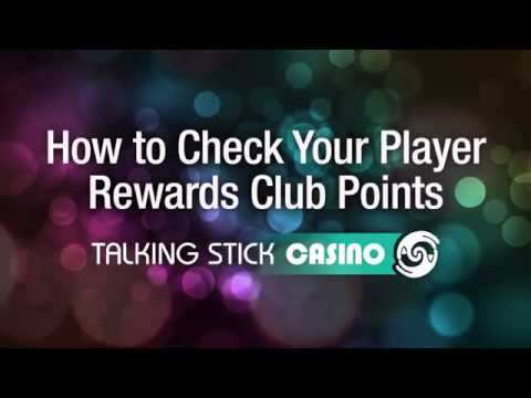 Talking Stick Casino: How to Check Your Player Rewards Club Points