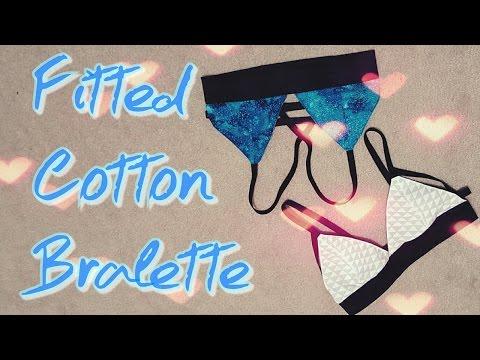 DIY: Cotton Bralette