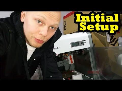 Initial Setup - Davinci 1.0 3d Printer