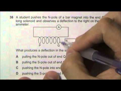 2009 O' Level Physics 5058 Paper 1 Solution Qn 36 to 40