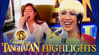 "Vice Ganda does the ""Choppy Choppy-han"" prank again to Angeline Quinto | Tawag ng Tanghalan"