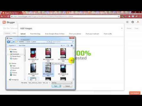 How to Upload flash file on blogspot website
