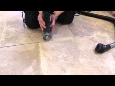 Travertine Floor Cleaning and Sealing Hull