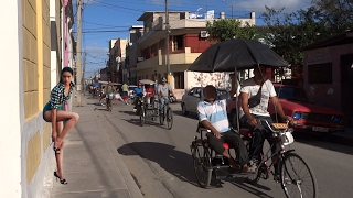 CUBA 2017 Real Cuba, visit of Holguin, la vida de Cuba, in the street of cuba