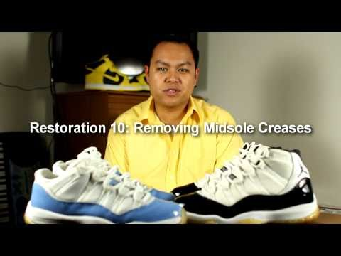 Removing Midsole Creases from the Air Jordan 11 (XI)
