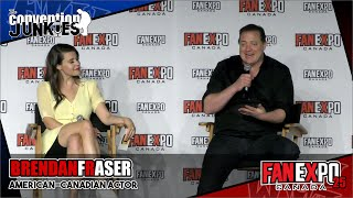 Download Brendan Fraser (The Mummy & Doom Patrol)- Fan Expo Canada 2019 Q&A Panel Video