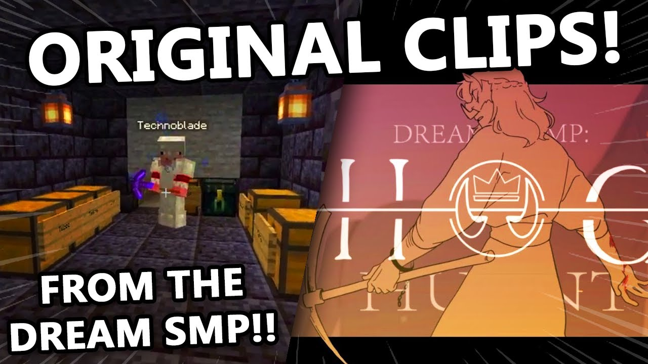 SAD-ist Animatic HOG HUNT But This Version It's All The Original Clips of the Dream SMP!!