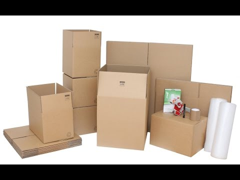 Flat Pack Cardboard Boxes UK Collection
