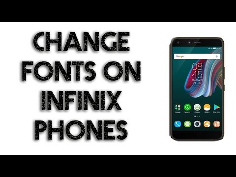 Change Font of Your Infinix Smartphone Easily | Step by Step Method | Urdu | A U R | 2018