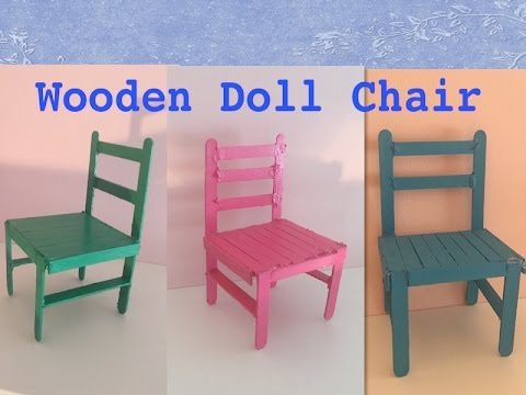 How to make a Wooden Doll Chair