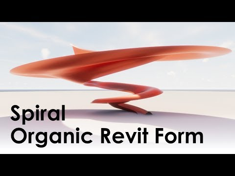 Revit Spiral Loft