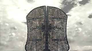 Dark Souls 3 PvP - Giant Door Shield - BEHOLD THE POWER OF THE DOOR