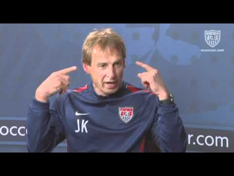 U.S. Soccer Interview with Jurgen Klinsmann: Team Building