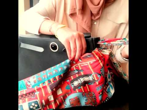 97dd1711c7 How to Wrap your Hermes Herbag with Scarf