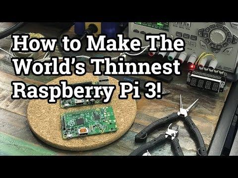 Bilge Tank 107 - The World's Slimmest Raspberry Pi 3