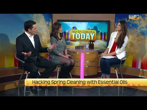 NDT Hacking spring cleaning with essential oils part two