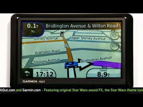 Star War Yoda GPS Voice on Garmin Demo