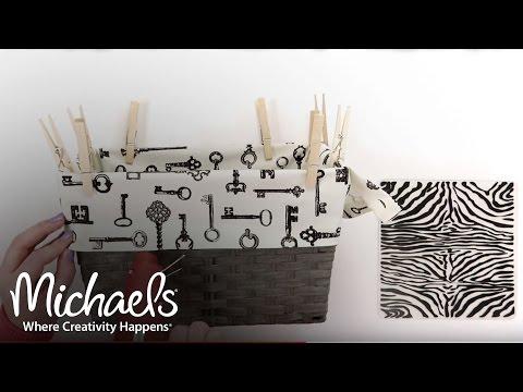 No-Sew Lining | DIY Apparel | Michaels