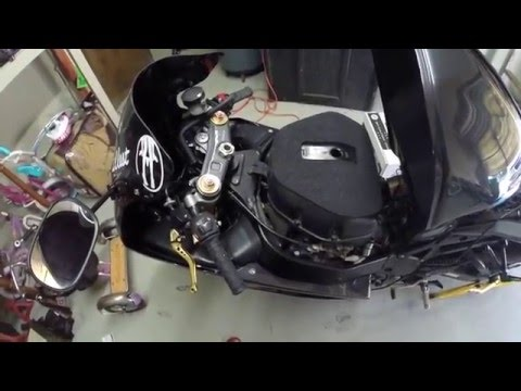 gsxr 1000 how to change filter and spark plugs