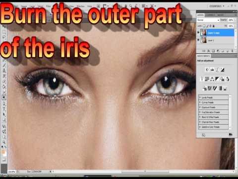 How to Enhance Eyes Using Photoshop