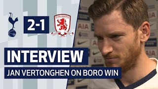 INTERVIEW | JAN VERTONGHEN ON MIDDLESBROUGH FA CUP WIN