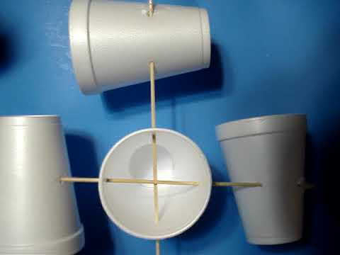 How To Make A Anemometer!!