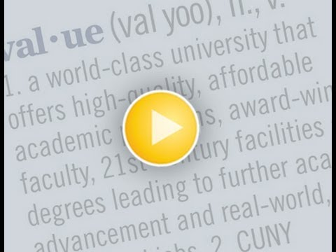 CUNY Value