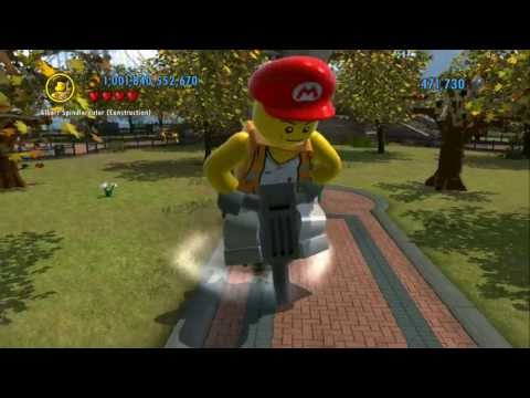 LEGO City Undercover (Wii U) - How to Unlock and Wear the Mario Hat