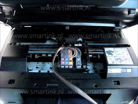 SMART INK ® ciss HP 364 photosmart installatie the best Ink system