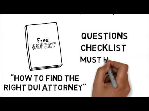 How To Choose A DUI Attorney
