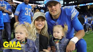 Wife of Detroit Lions quarterback on the road to recovery | GMA